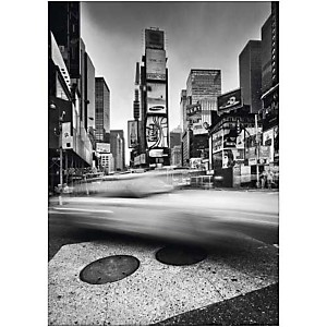 Times Square, NYC , Torsten Andreas HOFFMANN, affiche 50x70 cm