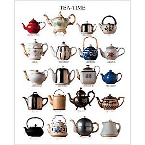 Tea-time , Atelier Nouvelles Images, affiche 40x50 cm