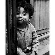Gamin de Paris, 1955 / Kid, Paris, 1955 ...