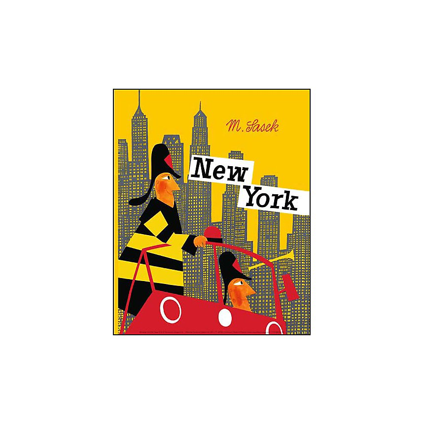 New York , Miroslav SASEK, affiche 24x30 cm