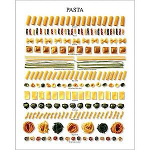 Pasta, Atelier Nouvelles Images, affiche 24x30 cm