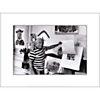 Pablo Picasso, Villa Californie, France, 1957 , René BURRI, affiche 30x40 cm