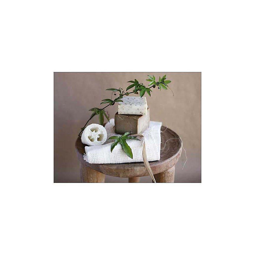 Spa beige et blanc, Amélie VUILLON, affiche 30x40 cm