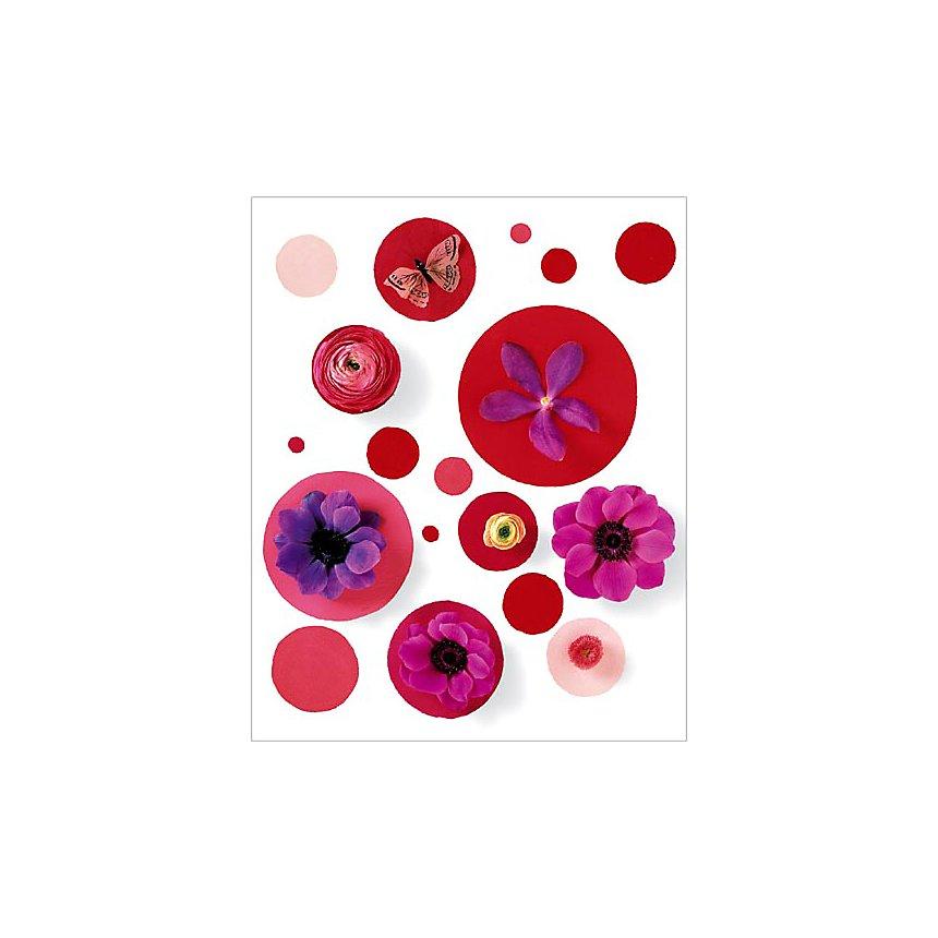 Pois rouges, Camille SOULAYROL et Pierre JAVELLE, affiche 40x50 cm