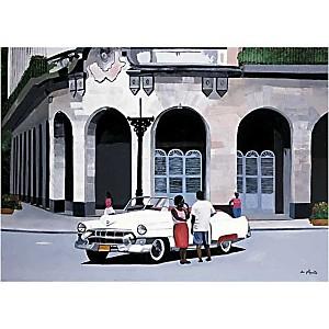 Le Capitole, La Havane, Cuba, Anne DU PLANTY, affiche 50x70 cm