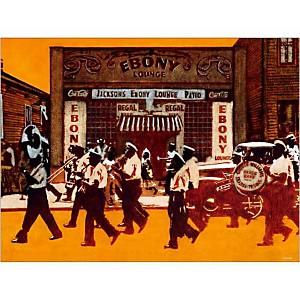 Ebony Lounge , Bruno VEKEMANS, affiche 60x80 cm