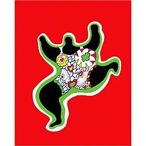 Nana Power , Niki DE SAINT PHALLE (1930-2002), affiche 24x30 cm