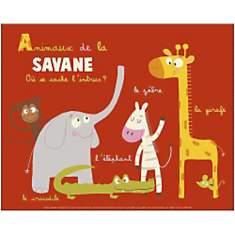 Animaux de la savane, Isabelle JACQUE, a...