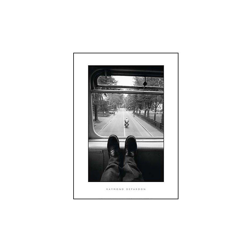 Marathon dans les rues de Montréal, 1976, Raymond DEPARDON, affiche 50x70 cm