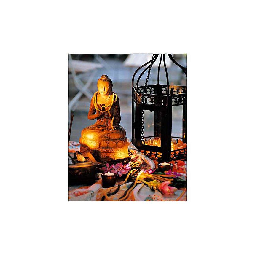Bouddha en lumière, REUTER/RAISSLE, affiche 24x30 cm