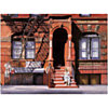 Sunday afternoon, East 7th street, lower NY , Anthony BUTERA, affiche 60x80 cm