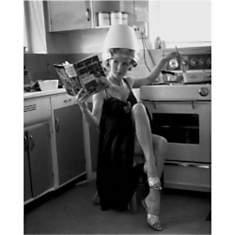 Coiffure dans la cuisine, Anonyme, affic...