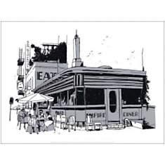 Empire Diner , David LANASPA, affiche 30...
