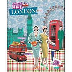 London , Emilie CAPMAN, affiche 24x30 cm
