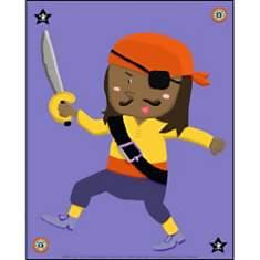Pirate 1 CARMEN, affiche 24x30 cm