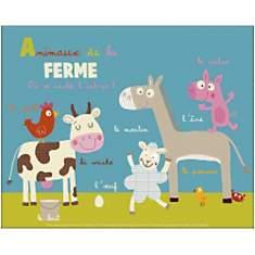 Animaux de la ferme, Isabelle JACQUE, af...