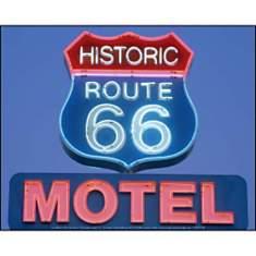 Route 66, Motel , Jon ARNOLD, affiche 24...