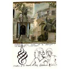 Vedado, La Havane, Fabienne JOUVIN, affi...