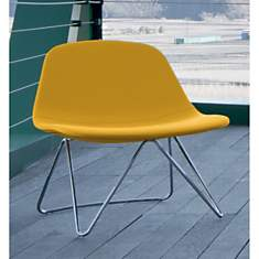 Fauteuil design STARY pied luge