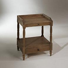 Table de nuit, chêne, 1 tiroir, ...
