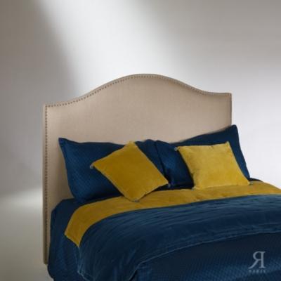 Tête de lit, pin, cloutée, APOLLINAIRE