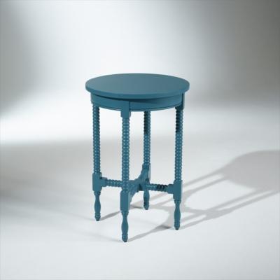 Guéridon bleu turquoise, ARTHUR