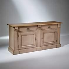 Buffet 2 tiroirs, 2 portes, Plateau Chên