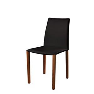 Lot de 2 chaises Olivia Woody Noyer