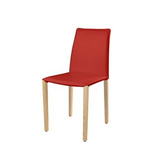 Lot de 2 chaises Olivia Woody Hêtre