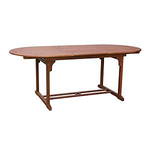 Table Bangkok Ovale en Acacia