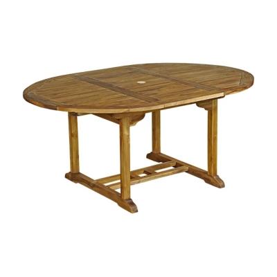 Table ronde Baya en Teck Huilé 4/6 place