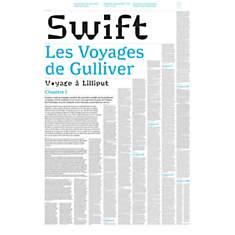 Livre-poster les Voyages de Gulliver - S...