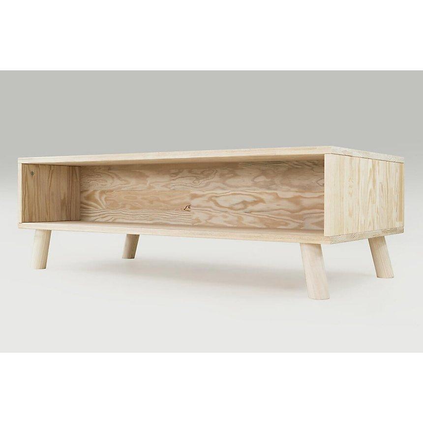 Table Basse Scandinave rectangulaire Viking bois