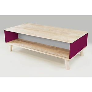 Table Basse Scandinave rectangulaire Viking bois