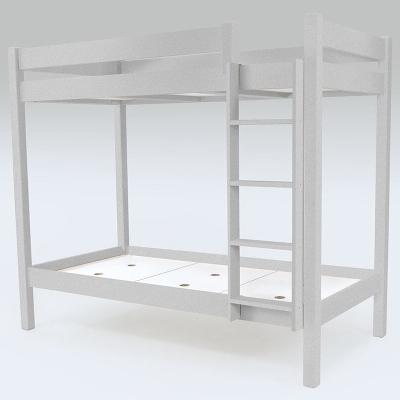 lit superpos abc avec chelle droite bois. Black Bedroom Furniture Sets. Home Design Ideas