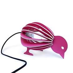 Zooo - lampe à poser oiseau en bois avec