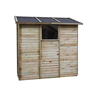Abri de rangement adossé en bois 2,63 m² Elisa