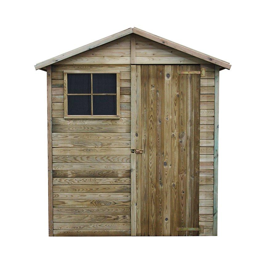 Abri de jardin en bois Léa 2,32 m²