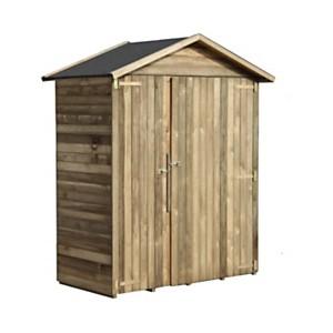 Abri de rangement en bois Eva 1,12 m²