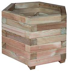 Jardinière hexagonale Jonquille