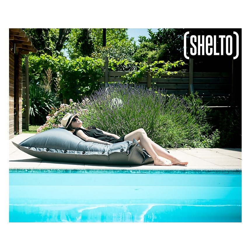Pouf piscine petit modèle SHELTO