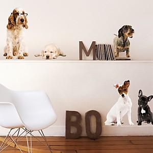 Sticker mural Les chiens de compagnie (LABAT )