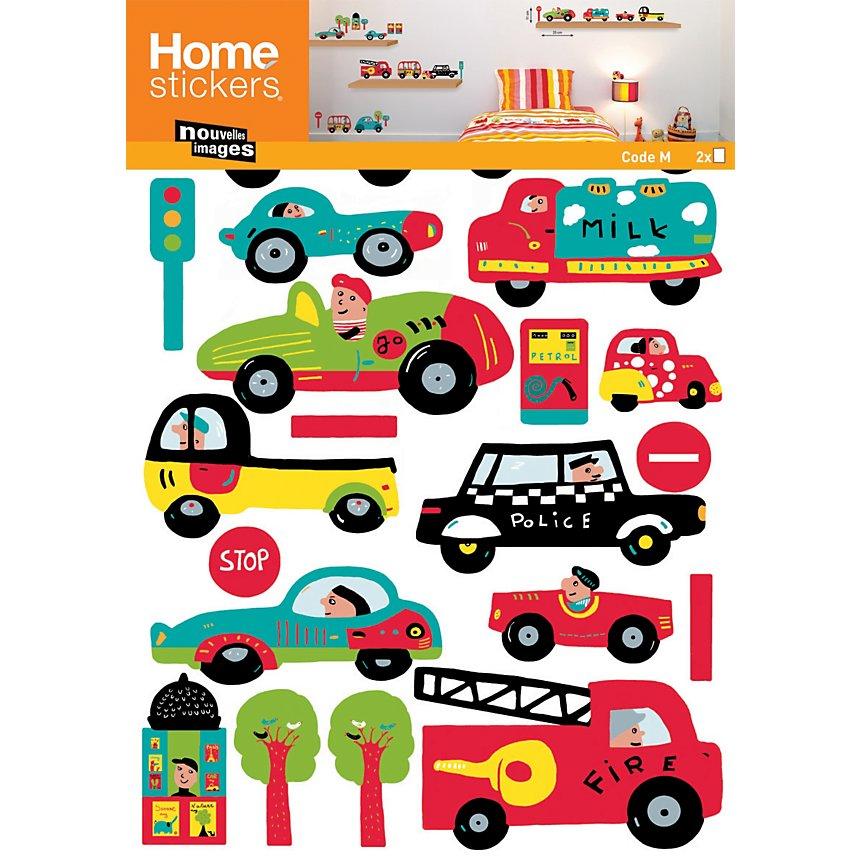 Sticker mural Les voitures (PRIGENT )