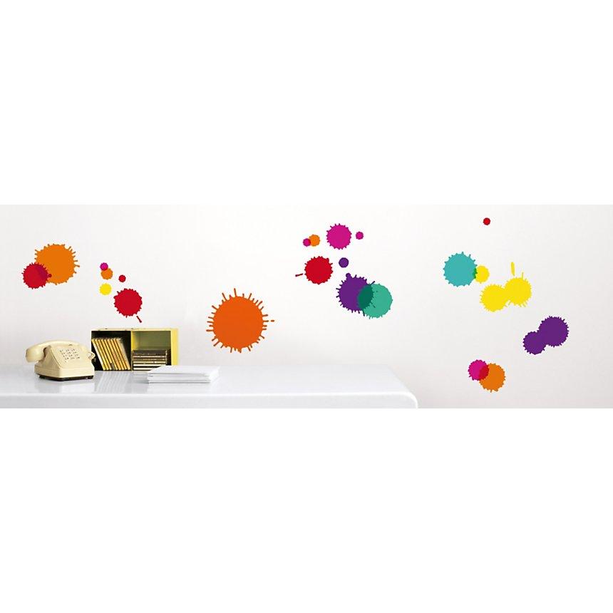 Sticker mural Tâches d'encre (KALOU )