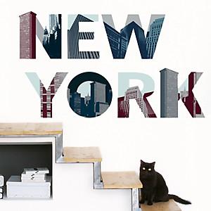 Sticker mural New York (LAMBERT ZORN CAILLOUX )