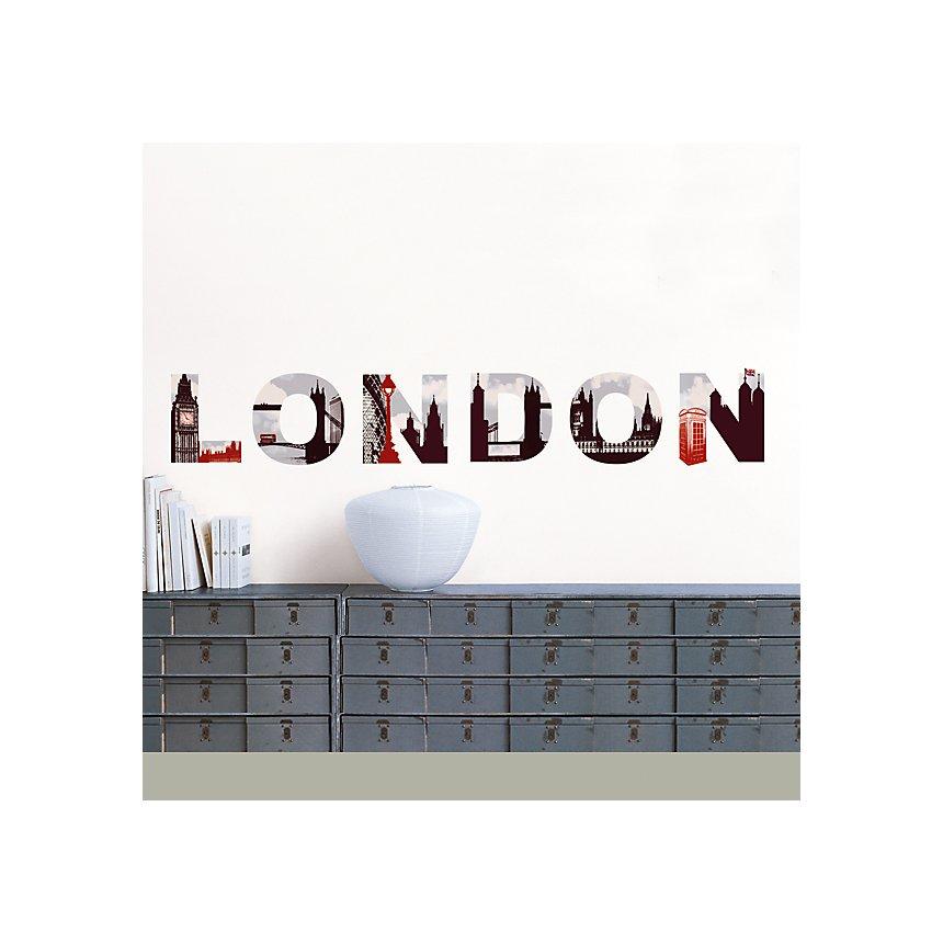 Sticker mural London (LAMBERT ZORN CAILLOUX)