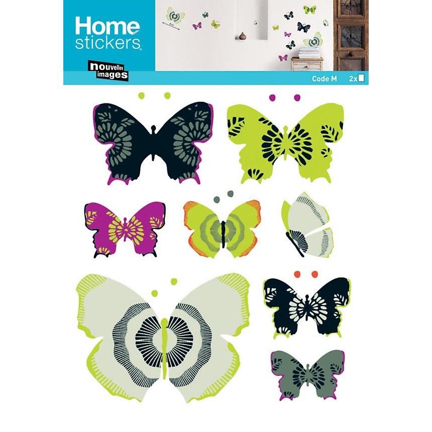 Sticker mural Papillons (CROFTS )