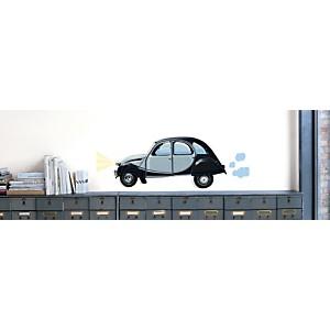 Sticker mural 2CV Citroën (MAILLOT )