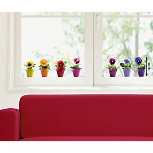 Sticker fenêtres Pensées multicolores