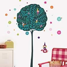 Sticker mural L'arbre à fées (VISSIAN GI...